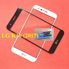 """New 5.3"""" For LG K10 2017 LV5 X400 M250 M250N Front touch screen Glass Lens"""