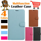 Leather Wallet Stand Folio Flip LSP Case For Samsung Galaxy S8+ / S8 Plus G955