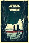 Star Wars 7 The Force Awakens Movie Art Silk Poster $14.39 CAD