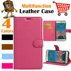 Leather Wallet Stand Folio LSP Case Skin For Samsung Galaxy J5 2016 / SM-J510