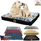 3 Layer Extra Large/ Large /Medium Waterproof Dog Bed Couch With Washable Cover