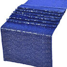 "12""x72"" / 12""x108"" Glitz Sequin Table Runners Wedding Party Banquet Decorations"
