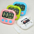 Large LCD Digital Kitchen Cooking Timer Count-Down Up Clock Loud Alarm Stand