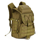 Outdoor Sports Backpack 40L Nylon MOLLE Expand Tactics Assault Pack Versatile