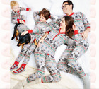 Family Matching Outfits Christmas Pajamas Mother Daughter Father Son Toddler hot