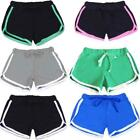Summer Women Gym Sports Shorts Waistband Skinny Yoga Workout Running Pants