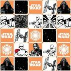 STAR WARS FORCE AWAKENS GRID FABRIC  METRIC FAT QUATER 50 X 56 CMS/20 X 22 INCH £39.6 GBP