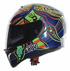 AGV K3 SV Rossi 5 Continents Full Face Motorcycle Helmet