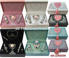 AN London Ladies Women Gift Set with Necklace, Earrings, Bracelet & Wrist Watch