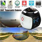 WIFI 4K 360° HD Ultra Panoramic Sports Camera Action Dash Cam Driving VR Camera