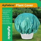 Agfabric Round Plant Cover Bags for Frost Protection/Summer Shading Dark Green