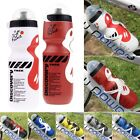 Outdoor Cycling Bike Bicycle PE 750ml Sport Water Bottle W/ Dust Cover Fast Ship