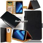 Black Flip Cover Stand Wallet Leather Case For Samsung Galaxy j1 j2 j3 j5 j7