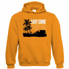 Easy Come Easy Go T4 Campervan Hoodie - Transporter - Gift for Him Dad