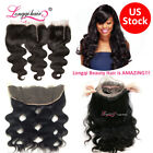 360 Lace Band Frontal Closure Malaysian Body Wave Hair Lace Closure 4*13 Frontal