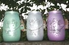 Large Butterfly Glass Lantern Candle Tealight Holder- indoor or outdoor use