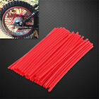 bicycle wheel spoke covers - Wheel Spoke Wraps Kit Rims Covers Skins Guard Protector For Motocross Dirt Bike