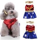 PUPPY FUNNY HALLOWEEN COSPLAY VEST DRESS PET DOG PARTY CLOTHES COSTUMES FABULOUS