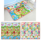 Child Infant Baby Kids Crawling Game Waterproof Floor Play Mat Rug Double-Side