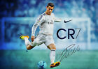 NEW 2017 CRISTIANO RONALDO REAL MADRID SUPER HIGH QUALITY POSTER PRINT A4 A3