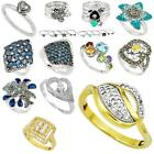 Factory direct jewelexi topaz 925 sterling silver ring jewelry 5018B