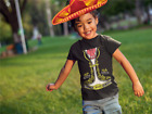 Mexican Mariachi Charro Halloween Costume Toddler Kids Boy Girl T-Shirt Mexico