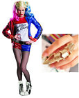 Charades Women's Super Deluxe Harley Quinn Costume + free Ring (12.99) value