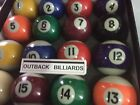 "REPLACEMENT  BALL 2"" (51mm) POOL TABLE BALL - ANY NUMBER -LOST-BROKEN-CHIPPED? $5.99 AUD on eBay"