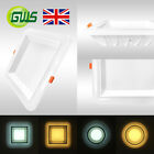 New Exclusive Super Bright Backlit Round & Square LED Ceiling Panel Down Light