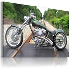 HARLEY DAVIDSON  MOTOR BIKE Large Wall Canvas Picture ART  HD6 £19.54 GBP on eBay