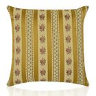 Handmade Antique Gold Regency Stripe Design Jacquard style Filled Cushion/cover