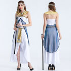 White Holy Arab Cleopatra Halloween Party Cosplay Clothing Costume Fancy Dress D