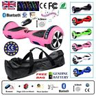 "6.5"" 2 WHEELS SELF BALANCING SCOOTER BALANCE BOARD BLUETOOTH +LED+REMOTE UK """