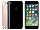 Apple iPhone7/7Plus -128GB - GSM Factory Unlocked - Silver Matte Black Rose Gold