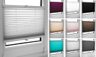Made to Measure Pleated Blinds, Easy Fit Install Plisse Conservatory Blinds