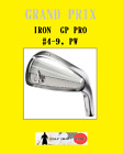 NEW GRAND PRIX GP PRO IRON set of 7 (#4-9,PW) -Head only possible- Made in JAPAN