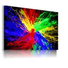 COLORFUL WORLD PATTERN MODERN ABSTRACT CANVAS WALL ART PICTURE WS207 X