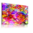 COLORFUL WORLD PATTERN MODERN ABSTRACT CANVAS WALL ART PICTURE WS209 X