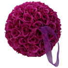 "9.84"" Kissing Bridal Ball Romantic Super Flower Party Wedding Outdoor Decor"