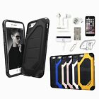 Shockproof Tpu Case Cover Earphones Accessory For Iphone X 6s+ 7 7 Plus 8 8 Plus
