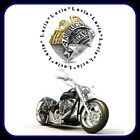' Men's American Biker Gothic Tiger Assorted Stainless Steel ring 316L look