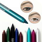20 Colors Fashion Women Smooth Waterproof Long Eyeliner Crayon Pencil Makeup