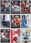 Goalie Game Used Jersey / Patch Cards - Choose From List - Titanium NHL Hockey