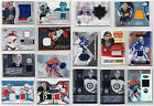 Goalie Jersey Game Used Numbered/Auto/Rookie Cards - Choose From List NHL Hockey