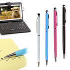 Universal Capacitive Touch Screen Stylus Pen Ballpoint Pen 2in1 for iPad Tablet