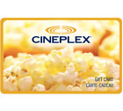 Cineplex Gift Card Gift Card $25, $50, or $100 - Fast email delivery <br/> Canada Only. Email delivery.
