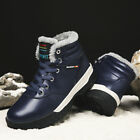 Mens Plus Size Snow Hiking Boots High Top Athletic Running Sports Outdoor Shoes