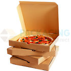 7 inch BROWN Pizza Boxes, Takeaway Pizza Box, Strong Quality Postal Boxes