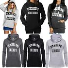 Womens HANGOVER HOODIES Printed Long Sleeve Ladies Hooded Top Sweatshirt YA417