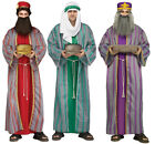 Adult size 3 Wise Men Costumes - Christmas Nativity fnt